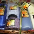 TUSCAN GARDENS ALOE VERA CAMOMILE 6 PC BATH SET WITH WOVEN BASKET
