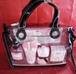 THINK PINK 4 PC TRAVEL BATH SET