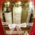 SIMPLE PLEASURE'S 5 PC 9 OZ VANILLA & LILY BATH SET