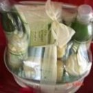 GREEN TEA & LEMON 9 PC SPA TREATMENT BATH SET