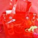 TIME OUT VERY RED CHERRY 2 PC BATH SET W/ BANGLES
