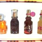 LIZ CLAIRBORNE 4 PC .5 0Z  WOMEN'S MIXED MINI PERFUME COLLECTION GIFT SET