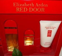 ELIZABETH ARDEN RED DOOR 3 PC WOMEN'S .85 OZ PERFUME GIFT SET
