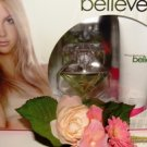 BRITNEY SPEARS BELIEVE WOMEN'S 2 PC 1 OZ PERFUME & BODY GIFT SET