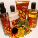 BATH & BODY WORKS SENSUAL AMBER 4 PC BATH GIFT SET