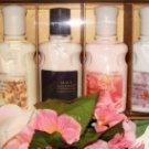 BATH & BODY WORKS 6 BOTTLE 2 OZ BODY LOTIONS GIFT SET