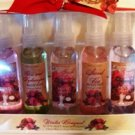 WINTER BOUQUET 5 PC ASSORTED FRAGRANT BODY MIST SPRAY SET