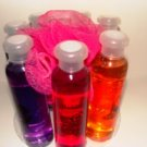 SIMPLE PLEASURES 7 PC SHOWER GELS ASSORTMENT SET