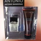 ANTONIO BANDERAS 2 PC . 5 OZ COLOGNE & AFTERSHAVE GIFT SET