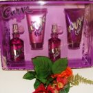LIZ CLAIBORNE CURVE CRUSH 4 PC 1.7 OZ WOMEN'S PERFUME & BATH GIFT SET