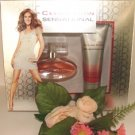 CELINE DION'S WOMEN'S 2 PC SENSATIONAL1 OZ PERFUME & BODY GIFT SET