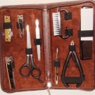 MEN'S 9 PC PERSONAL GROOMING TRAVEL SET TRAVEL ACCESSORIES