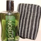 BATH & BODY WORKS MEN'S 2 PC CITRON TRAVEL BATH SET