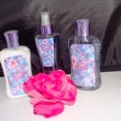 BATH & BODY WORKS MOONLIGHT PATH 3 PC BATH GIFT SET