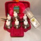 BATH & BODY WORKS 7 PC EUCALYPTUS SPEARMINT FRAGRANCE REFILL BULBS W/ NIGHT LIGHT WALLFLOWER UNIT