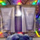 ELIZABETH TAYLOR WOMEN'S VIOLET EYES 3 PC 1 OZ PERFUME & BODY GIFT SET
