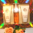 ELIZABETH TAYLOR WOMEN'S WHITE DIAMOND 3 PC 1 OZ PERFUME & BODY GIFT SET