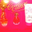 JUICY COUTURE 3 PC WOMEN'S .5 OZ PERFUME & BATH GIFT SET