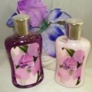 BATH & BODY WORKS ENCHANTED ORCHID 3 PC BATH GIFT SET