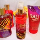BATH & BODY WORKS BALI MANGO 4 PC BATH SET