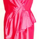 EVAN PICONE WOMEN'S HOT PINK A-LINE DRESS SIZE, 6