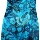 ADRIANNA PAPELL MULTI COLOR SLEEVELESS FLORAL SHEATH DRESS SIZE, 4, 6