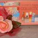 LIZ CLAIBORNE 5 PC MINATURE WOMEN'S PERFUME COLLECTION SET