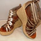 "NICOLE WOMEN'S WINCE FASHION STRAPPY 4"" WEDGE SANDAL SIZE 6.5, 7.5, 8.5, 9"