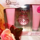 PARIS HILTON DAZZLE 3 PC WOMEN'S PERFUME & BODY GIFT SET