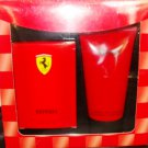 FERRARI RED 2 PC MEN 2.5 OZ COLOGNE & BODY GIFT SET