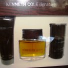 KENNETH COLE SIGNATURE 3 PC 1.7 OZ MEN COLOGNE & BODY GIFT SET