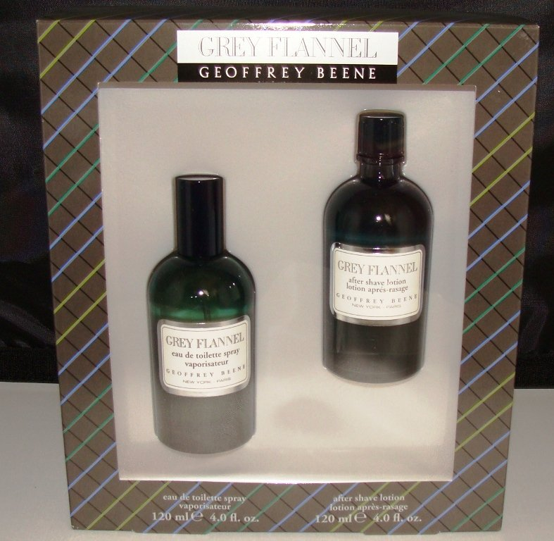 GREY FLANNEL 2 PC 4 OZ MEN COLOGNE & BODY GIFT SET
