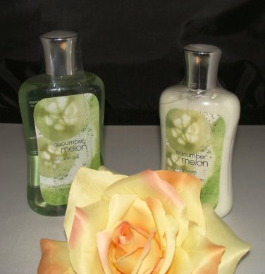 B & BW CUCUMBER MELON 2 PC BATH SET