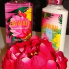 BATH & BODY WORKS HAWAII PASSIONFRUIT KISS 2 PC BATH SET