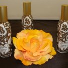 BATH & BODY WORKS MAHOGANY TEAKWOOD 3 CAN ROOM SPRAY SET