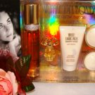 ELIZABETH TAYLOR WHITE DIAMOND 5 PC 1.7 OZ WOMEN'S PERFUME & BODY GIFT SET