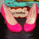 ZIGI SOHO REVEL HOT PINK PATENT WOMEN'S STILETTOS HEELS