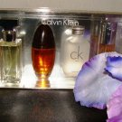 CALVIN KLEIN 4 PC WOMENS COFFRET PERFUME GIFT SET