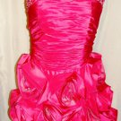 CINDERELLA SHORT HOT PINK SPECIAL OCCASION DRESS SIZE 4