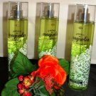 BATH & BODY WORKS SWEET MAGNOLIA CLEMENTINE 3 PC BODY MIST SET