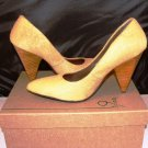 BACIO 61 CARINO CAMEL LEATHER PUMPS SIZE 6.5, 7.5, 8.5, 9