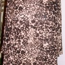 VERONICA M ANIMAL PRINT TOP SIZE MED, LG