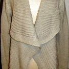 MIILLA CREAM CARDIGAN LONG SLEEVE SWEATER SIZE MED