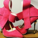 PRIVILEDGE MARINE FUCHSIA POINTED TOE HEELS SIZE, 6, 6.5, 7, 8, 11