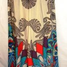 FLYING TOMATO PLUS SIZE PAISLEY PEACOCK PRINT PALAZZO PANTS SIZE 2-X LG