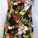 GRACIA FLORAL A-LINE DRESS SIZE, M