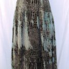 LEMIEUX MULTI COLOR SLEEVELESS MAXI DRESS SIZE SM