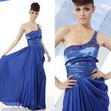 EGYPTIAN INSPIRED Sapphire Blue Dress