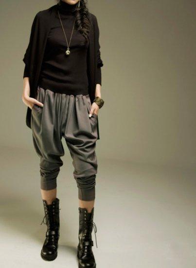 SH006 - BLACK BAGGY PANTS
