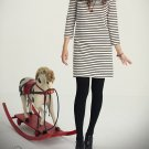 SH007 - ZEBRA STRIPES LONG T-DRESS
